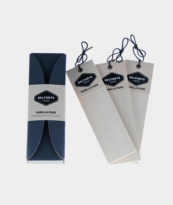 Listelli Profumati per Armadi e Cassetti Vanilla Pure