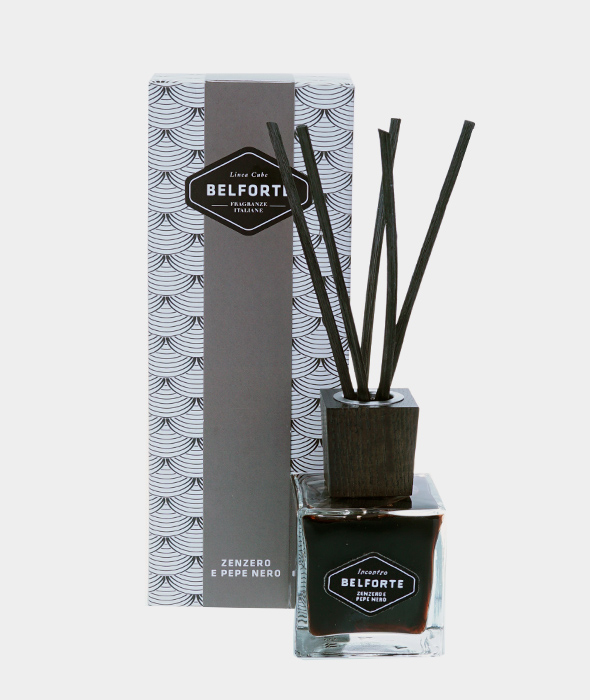 Diffuser 100 ml Black Cube Ginger and Black Pepper