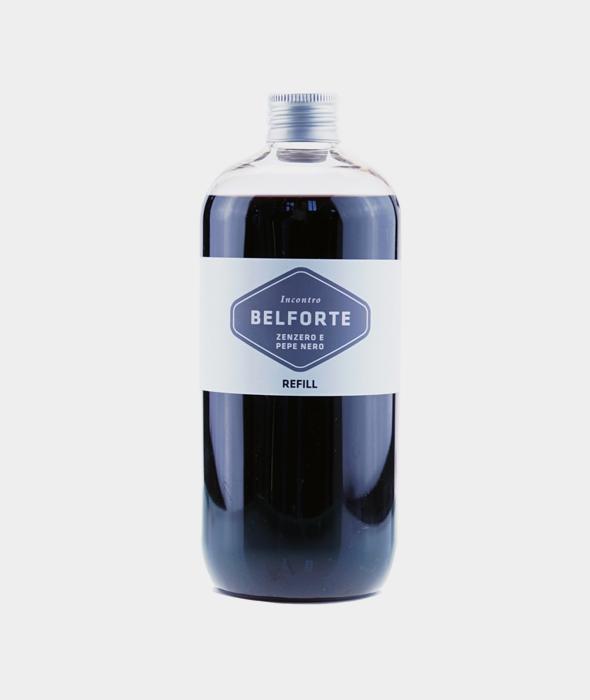 Ricarica 500 ml per diffusore Black Cube Zenzero e Pepe Nero