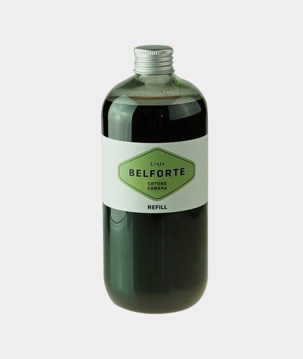 Ricarica 500 ml per diffusore Black Cube Cotone Canapa
