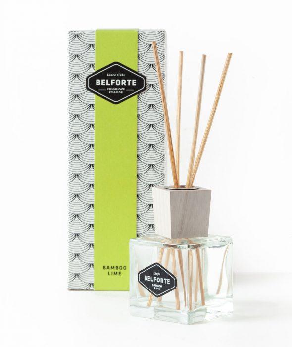 Diffusore bastoncini fragranza Bamboo Lime