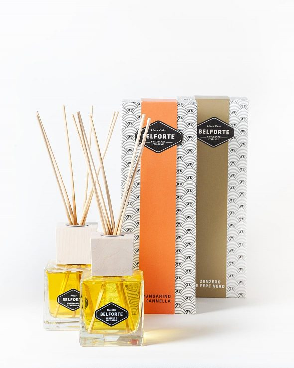 Spicy – Reed diffusers with sticks Trial pack